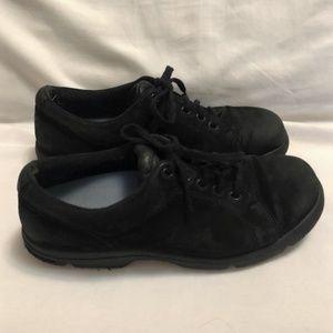 Women's Black Suede Rockport Shoes